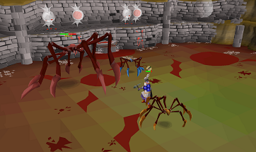 Exploring the new Forthos Dungeon